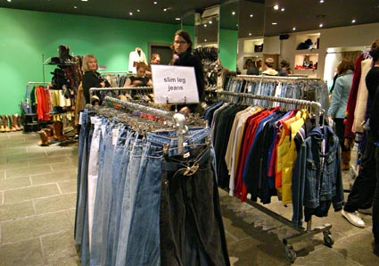Rockit second hand clothes store, Covent Gardnen, London
