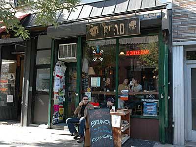 Read Cafe, Williamsburg.